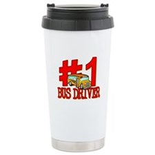 #1 Bus Driver Travel Mug