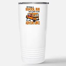 Driving a School Bus Thermos Mug