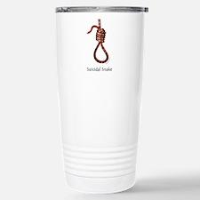 Suicidal Snake Travel Mug