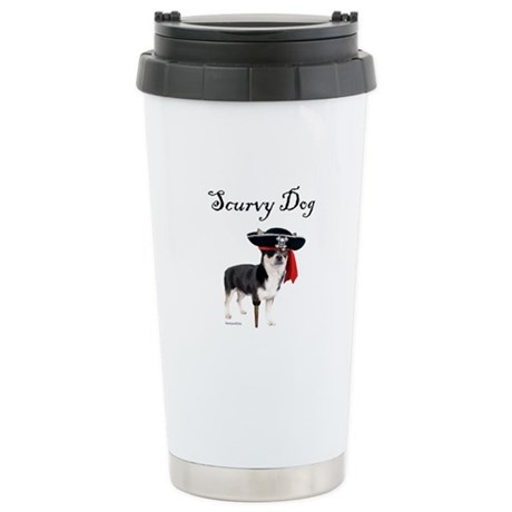 Scurvy Dog Stainless Steel Travel Mug