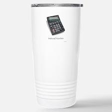 Irrational Numbers Travel Mug