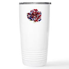 British Rose Travel Mug