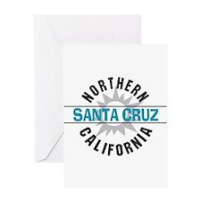 Santa Cruz California Greeting Card