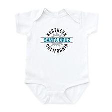 Santa Cruz California Infant Bodysuit
