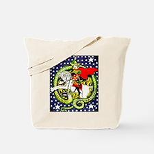 Trotsky Slaying the Dragon Tote Bag