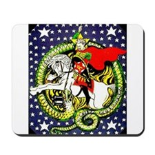 Trotsky Slaying the Dragon Mousepad
