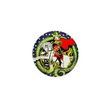 Trotsky Slaying the Dragon Mini Button (100 pack)