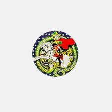 Trotsky Slaying the Dragon Mini Button (10 pack)