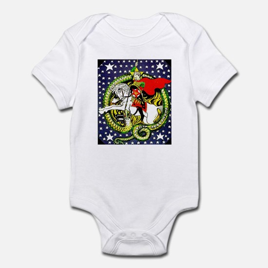 Trotsky Slaying the Dragon Infant Bodysuit