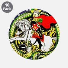 """Trotsky Slaying the Dragon 3.5"""" Button (10 pack)"""