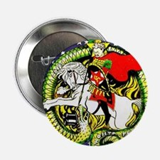 "Trotsky Slaying the Dragon 2.25"" Button"