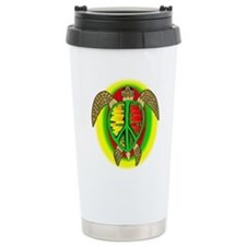 Reggae Turtle Travel Mug