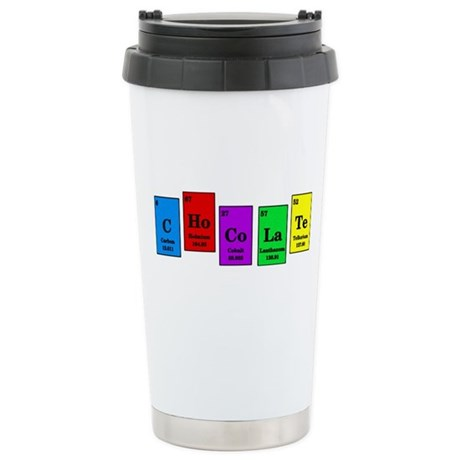 Elemental Chocolate Stainless Steel Travel Mug