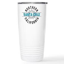 Santa Cruz California Travel Mug