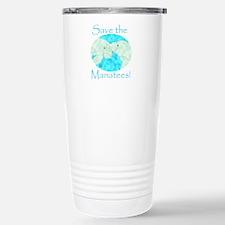 Save the Manatees Travel Mug