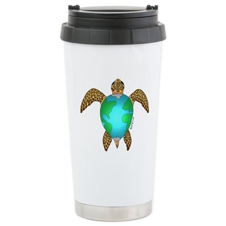 Sea Turtle Stainless Steel Travel Mug