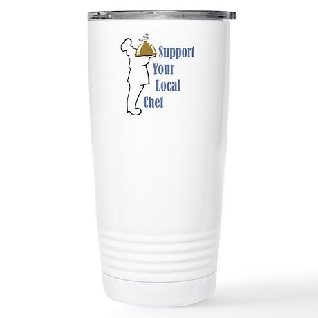 Local Chef Stainless Steel Travel Mug