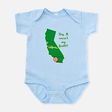 California Earthquake Infant Bodysuit