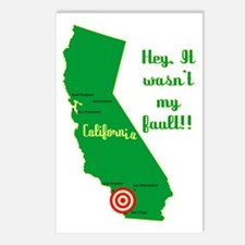 California Earthquake Postcards (Package of 8)