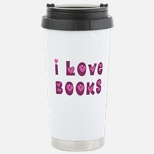 I Love Books Travel Mug