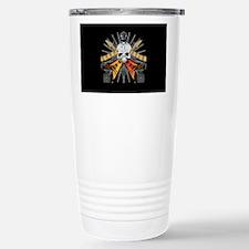 Rock Star Skull Travel Mug