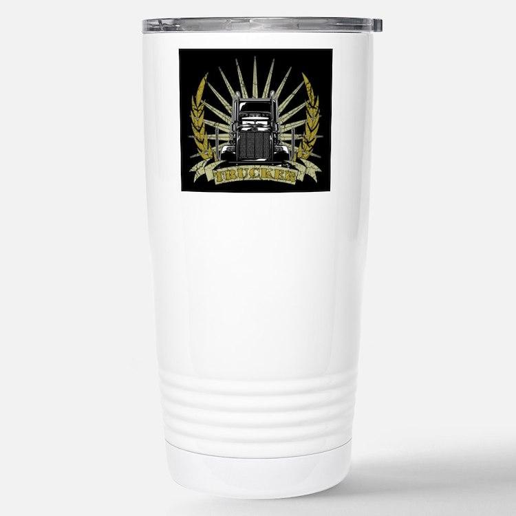 Trucker Gifts Travel Mug