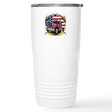 American Trucker Travel Mug
