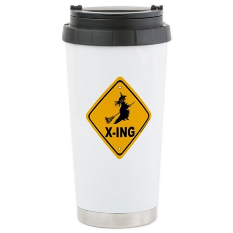 Witch X-ing Stainless Steel Travel Mug