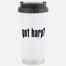 got harp? Travel Mug