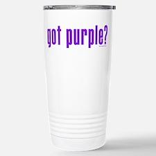 got purple? Stainless Steel Travel Mug