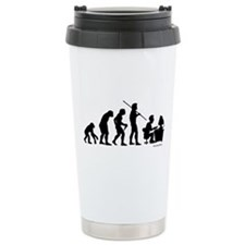 Computer Evolution Travel Mug