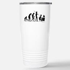 Computer Evolution Travel Mug