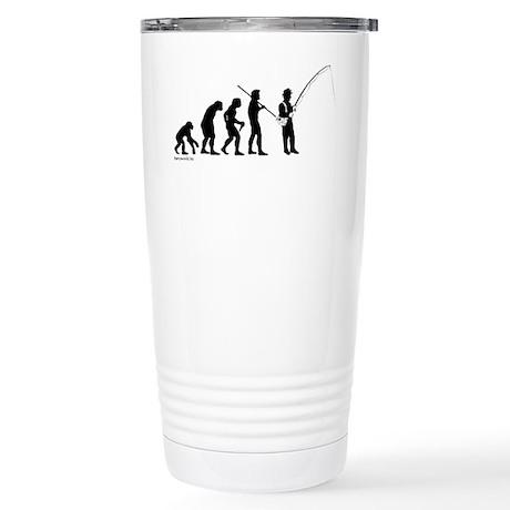 Fishing Evolution Stainless Steel Travel Mug