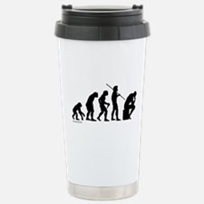Thinker Evolution Travel Mug