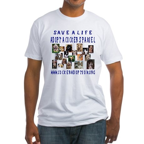 Save a Life Fitted T-Shirt