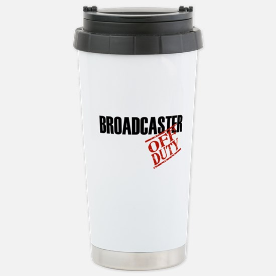 Off Duty Broadcaster Stainless Steel Travel Mug