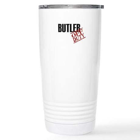 Off Duty Butler Stainless Steel Travel Mug