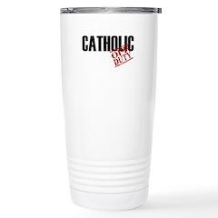 Off Duty Catholic Travel Mug