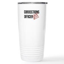 Off Duty Corrections Officer Travel Mug