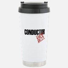 Off Duty Conductor Stainless Steel Travel Mug