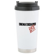 Off Duty Cinematographer Travel Mug