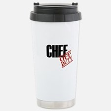 Off Duty Chef Stainless Steel Travel Mug