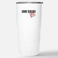 Off Duty Home Builder Stainless Steel Travel Mug