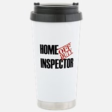 Off Duty Home Inspector Stainless Steel Travel Mug