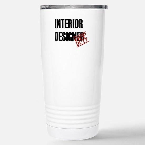 Off Duty Interior Designer Stainless Steel Travel