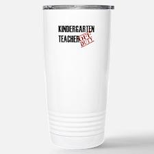 Off Duty Kindergarten Teacher Travel Mug