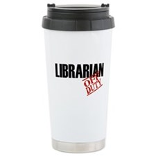 Off Duty Librarian Travel Mug