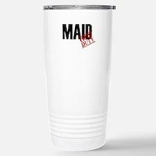 Off Duty Maid Stainless Steel Travel Mug