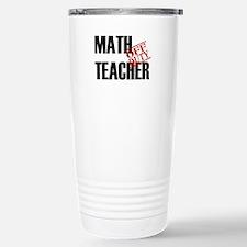 Off Duty Math Teacher Travel Mug