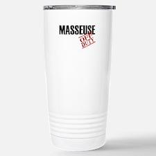 Off Duty Masseuse Travel Mug